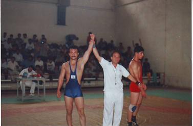 wrestling match (ebrahim naiminia)